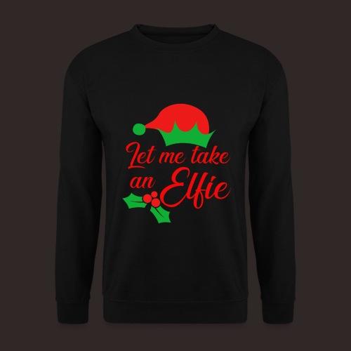 Weihnachten | Elf Mütze Weihnachtself Wortspiel - Männer Pullover