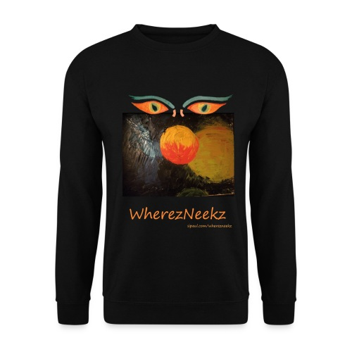 nico-transparent-8bit-lin - Unisex Sweatshirt