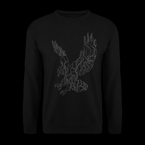 Circuit eagle White - Unisex sweater