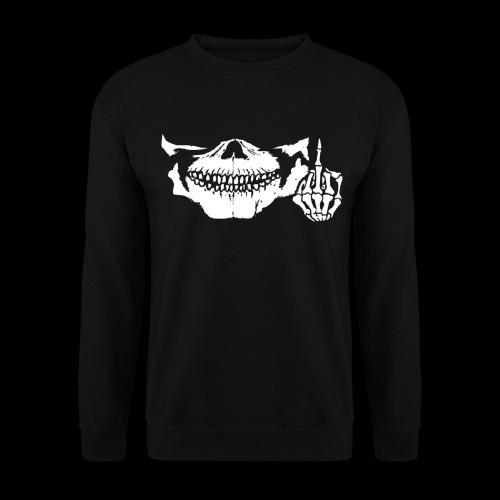 DJ SKULL LOGO - Sweat-shirt Unisexe