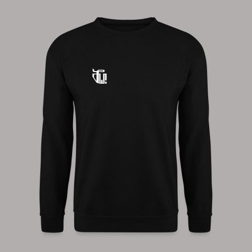 Zirkel, weiss (vorne) Zirkel, r w g (hinten) - Unisex Pullover