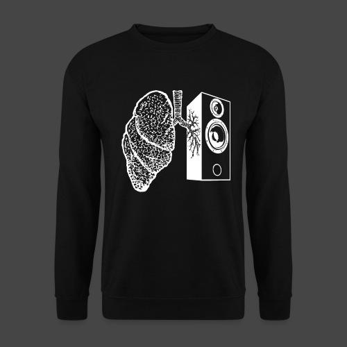 haut-parleur du poumon - Sweat-shirt Unisex
