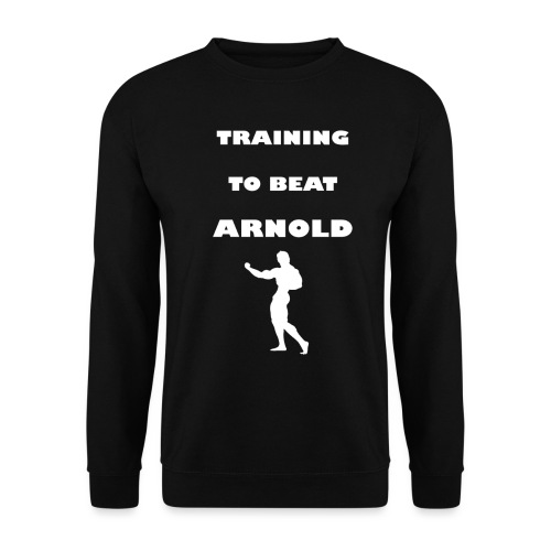 Training to beat Arnold - Sudadera hombre