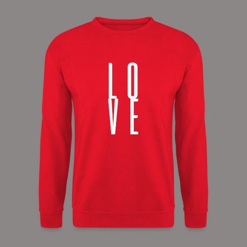 LOVEwhite - Unisex Pullover