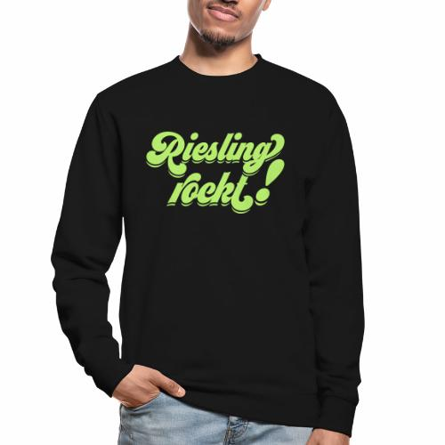 Riesling rockt - Unisex Pullover