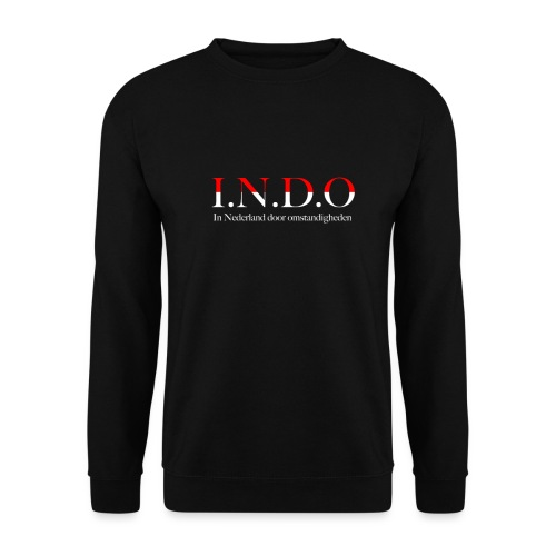 INDO omstandigheden png - Unisex sweater