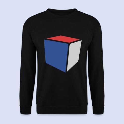 Cube Minimaliste - Sweat-shirt Unisexe