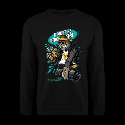 veganpower Gangsta Gorilla - Männer Pullover