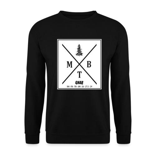 Block MTB wht pic - Men's Sweatshirt