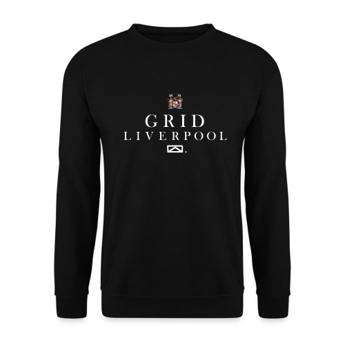 GRID LIVERPOOL COAT OF ARMS - Men's Sweatshirt