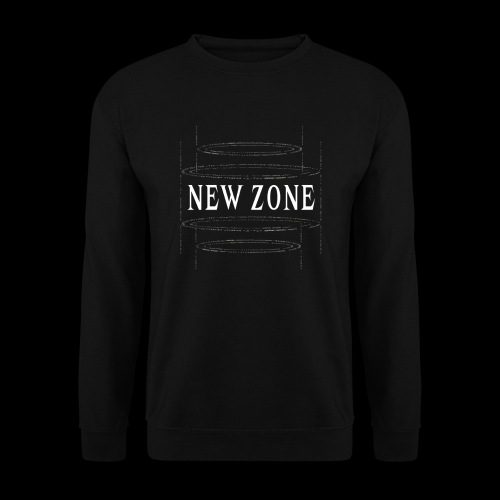 New Zone White - Men's Sweatshirt