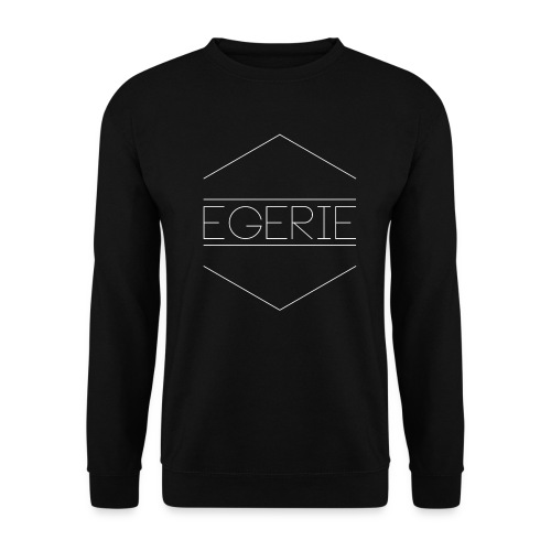 LOGOEGERIEBLANC png - Sweat-shirt Unisexe