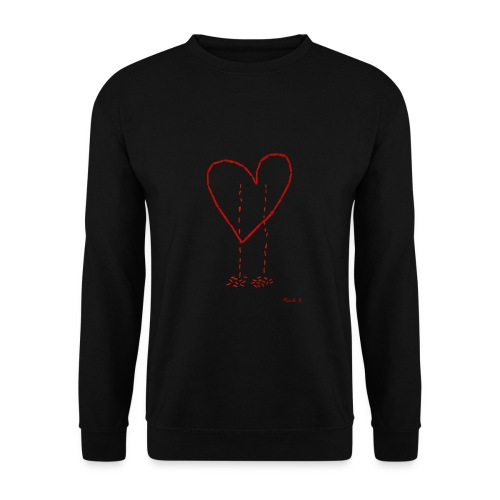 Bleeding Heart - Men's Sweatshirt