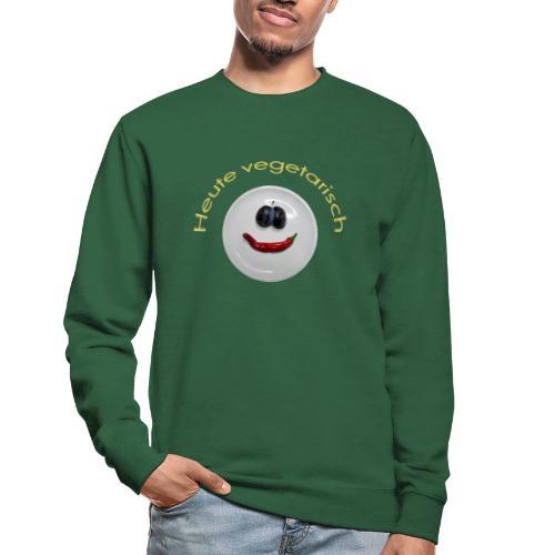 TIAN GREEN - Heute Vegetarisch - Unisex Pullover