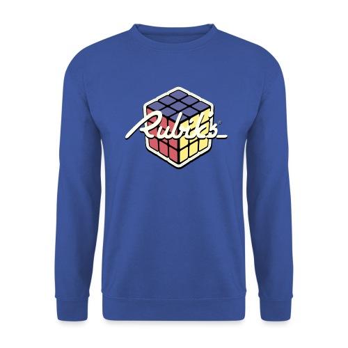 Rubik's Cube Retro Style - Unisex Sweatshirt