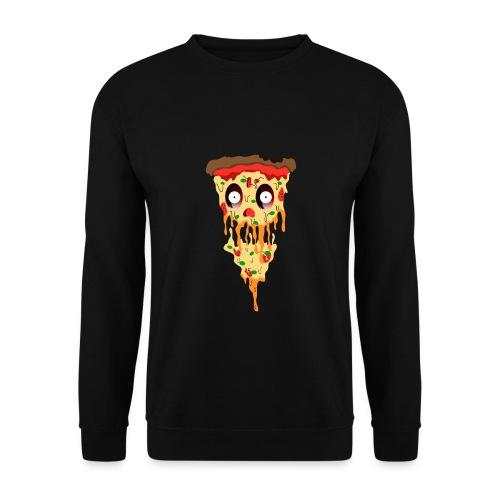 Schockierte Horror Pizza - Männer Pullover