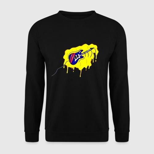 gitaar graffiti-style - Unisex sweater