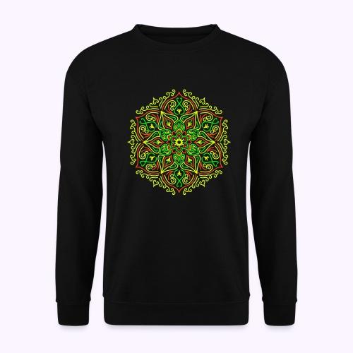 Fire Lotus Mandala - Unisex Sweatshirt