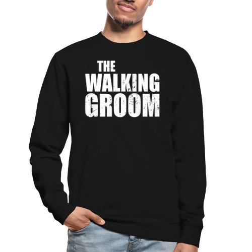 The walking groom Bräutigam Junggesellenabschied - Unisex Pullover