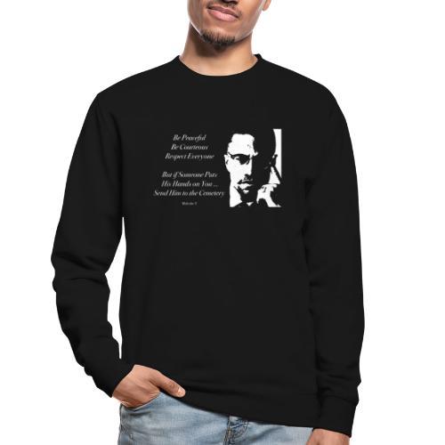 Malcolm X [#1] - Unisex Sweatshirt