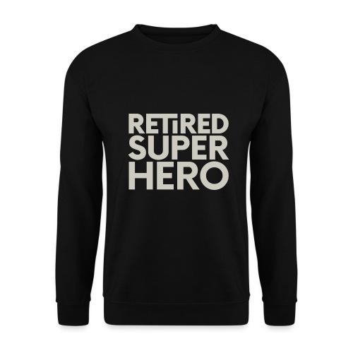 retired superhero - Men's Sweatshirt