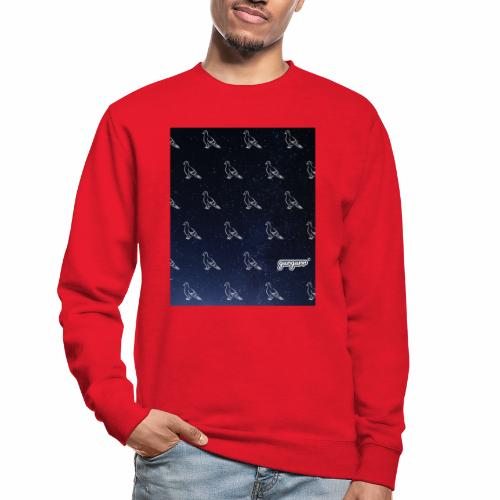 pigeonarmay in space - Unisex Pullover