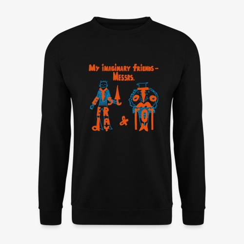 My imaginary friends T-shirt - Männer Pullover