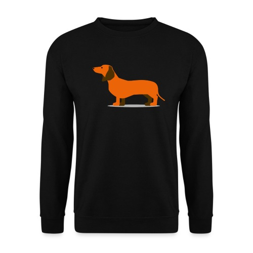 dackel png - Unisex Pullover