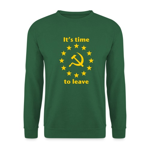 eu itshammertime 5 yellow - Unisex Sweatshirt
