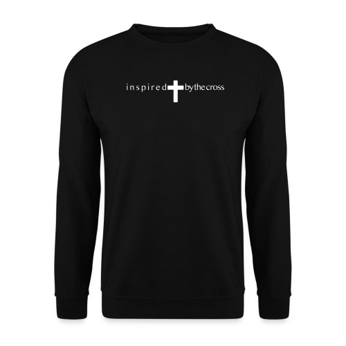 Inspired by the cross - Sweat-shirt Homme