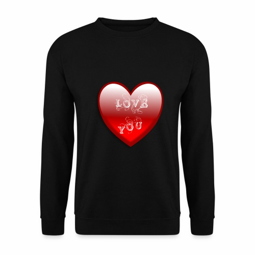 Love You - Männer Pullover