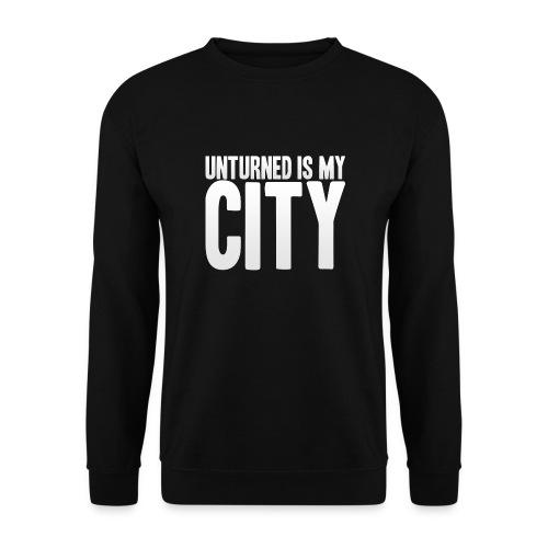 Unturned is my city - Men's Sweatshirt