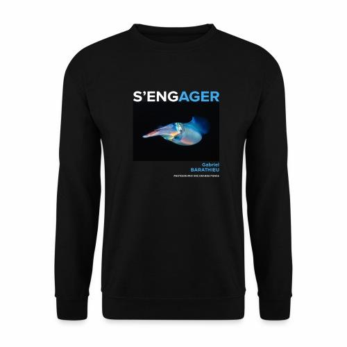 1 Achat = 1 Don à l'association Deep blue explore - Sweat-shirt Homme