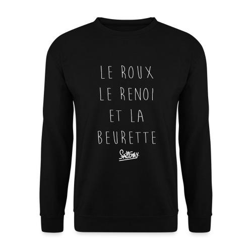 Roux Renoi Beurette - Sweat-shirt Homme
