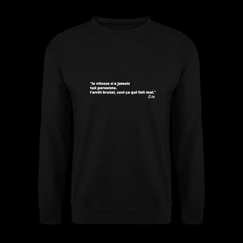 vitesse (blanc) - Sweat-shirt Homme