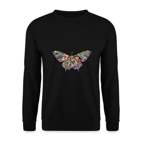 Geflogener Schmetterling - Männer Pullover
