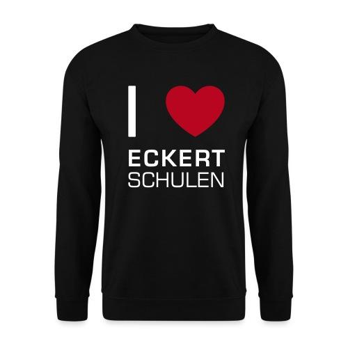 I love Eckert Schulen - Männer Pullover