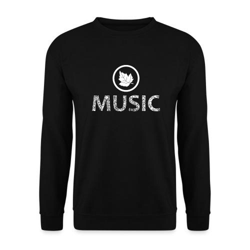 logo bashk music e bardhe - Unisex Sweatshirt
