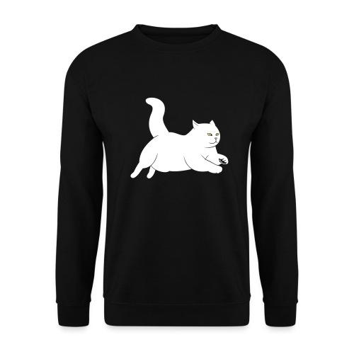 running cat - Männer Pullover