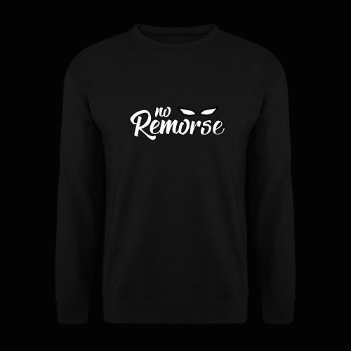No Remorse Title With Eyes - Men's Sweatshirt