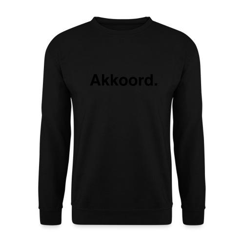 Akkoord - Unisex sweater