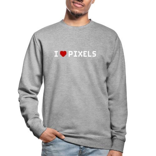 I Love Pixels - Unisex sweater