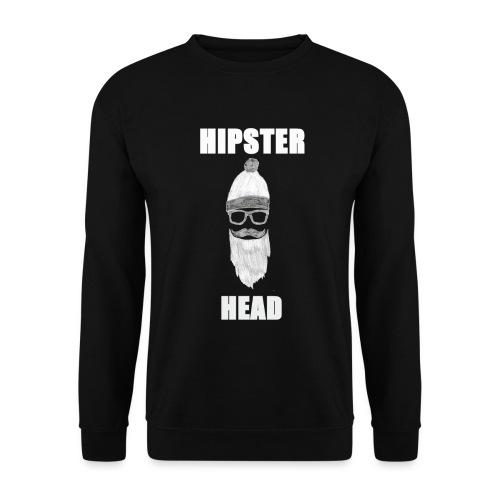 Hipster Head png - Männer Pullover
