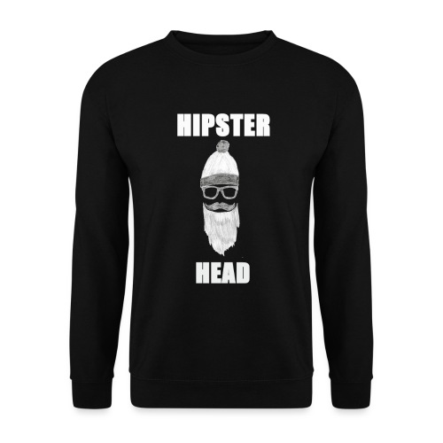 Hipster Head png - Unisex Pullover