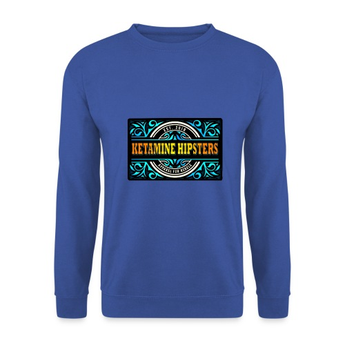 Black Vintage - KETAMINE HIPSTERS Apparel - Men's Sweatshirt