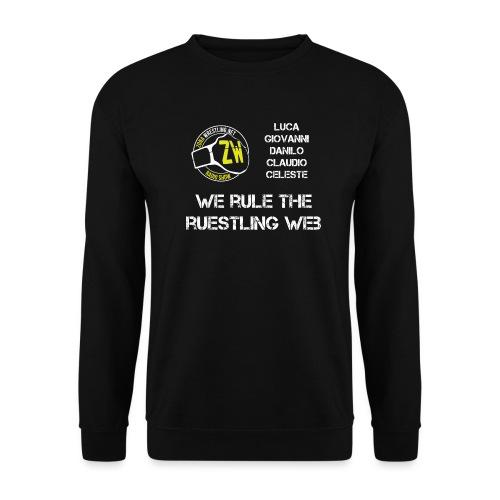 We Rule The Ruestling Web - Felpa da uomo