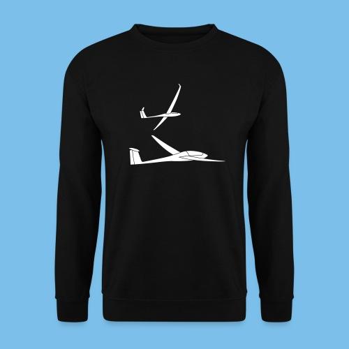 Segelflieger Geschenk Segelflugzeug Formation - Männer Pullover