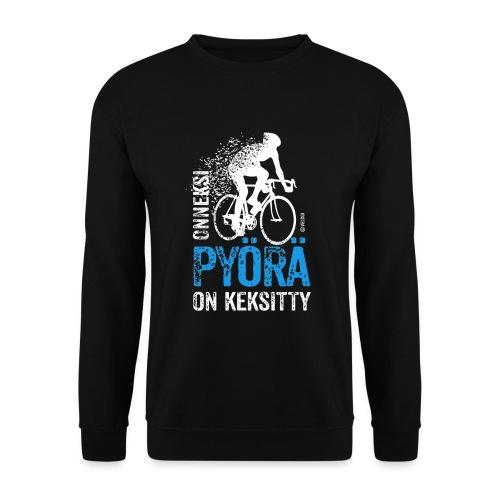 Onneksi pyörä on keksitty - Road bike w - Miesten svetaripaita