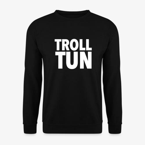 Trolltun logo - Genser for menn