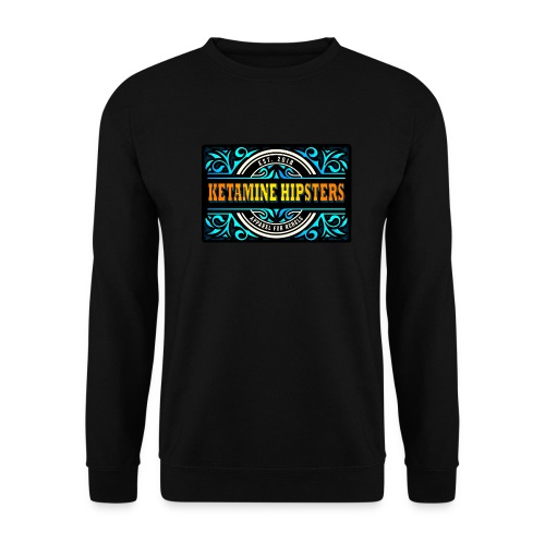 Black Vintage - KETAMINE HIPSTERS Apparel - Unisex Sweatshirt